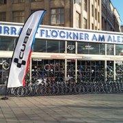 Fahrrad Flöckner am Alex, Berlin