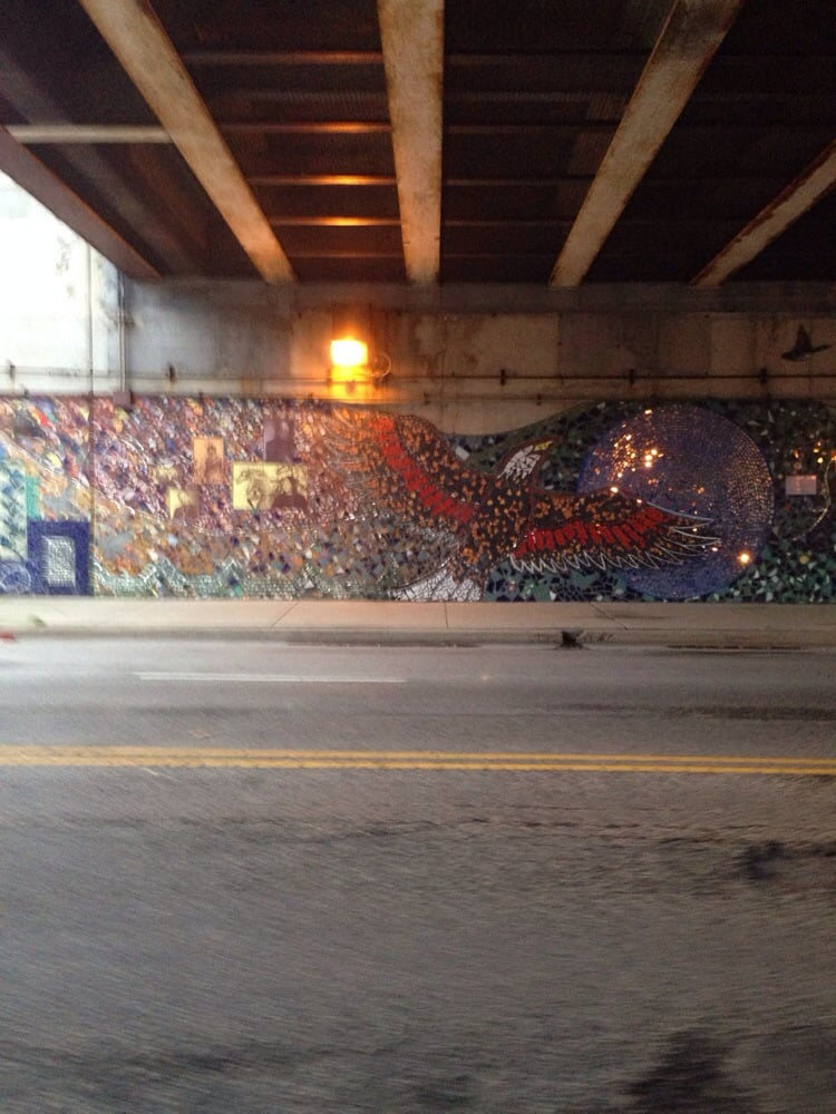 Foster Avenue Underpass Mural Local Flavour Edgewater
