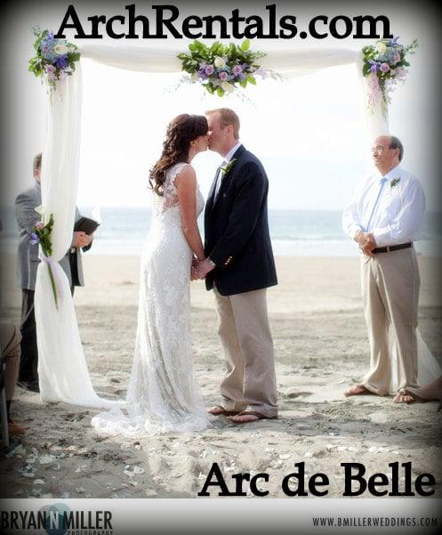 White Draped Wedding Arch RentalsIn Los AngelesOrange CountySan DiegoPhoenixOrlandoMiami