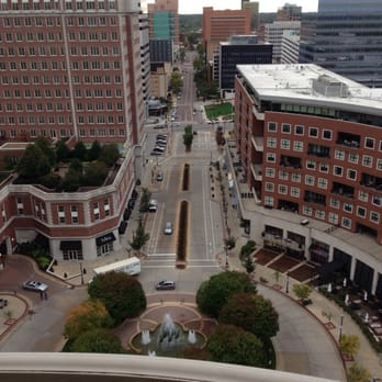 The ritz carlton st louis hotels clayton saint for 18th floor balcony video