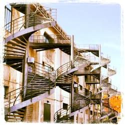 Les escaliers ADN de ka sucrière