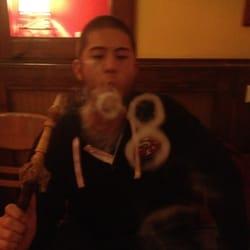 Smoke rings!