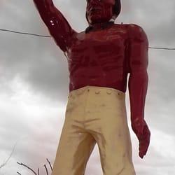 Native American Muffler Man - Bakersfield, CA, États-Unis