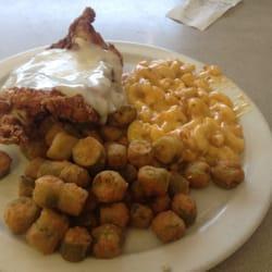 Bluff Park Diner - Fried chicken, Mac & cheese, & fried okra - Birmingham, AL, Vereinigte Staaten