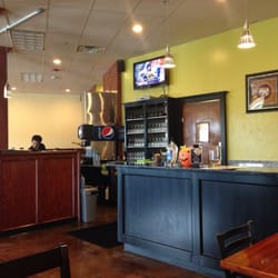 Panang2 Thai Restaurant - Oklahoma City, OK, États-Unis. Front counter