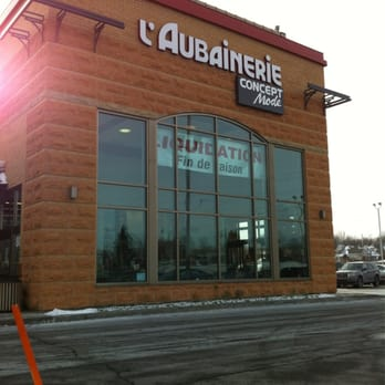 aubainerie l department stores chateauguay qc
