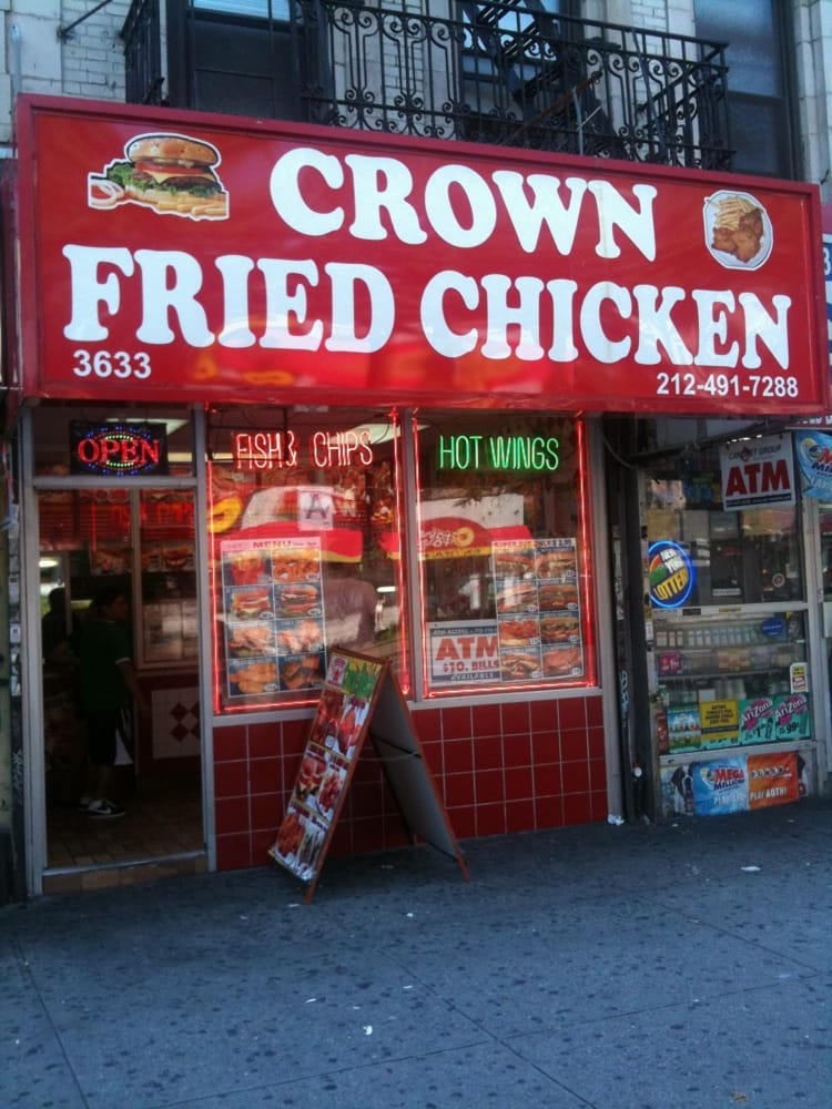 Crown fried chicken southern american restaurants for American cuisine restaurants near me