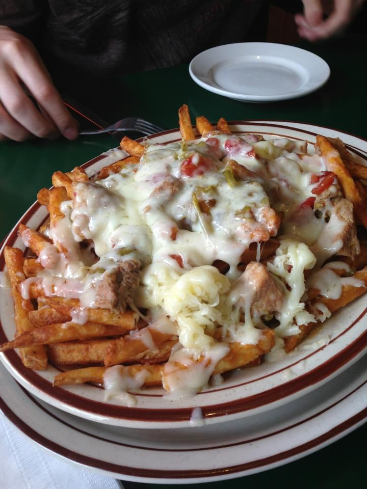 Cherry Cricket - Denver, CO, United States. The best green chille cheese fries