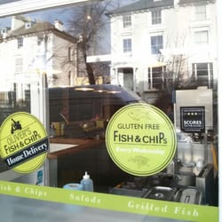Gluten free fish and chips every…
