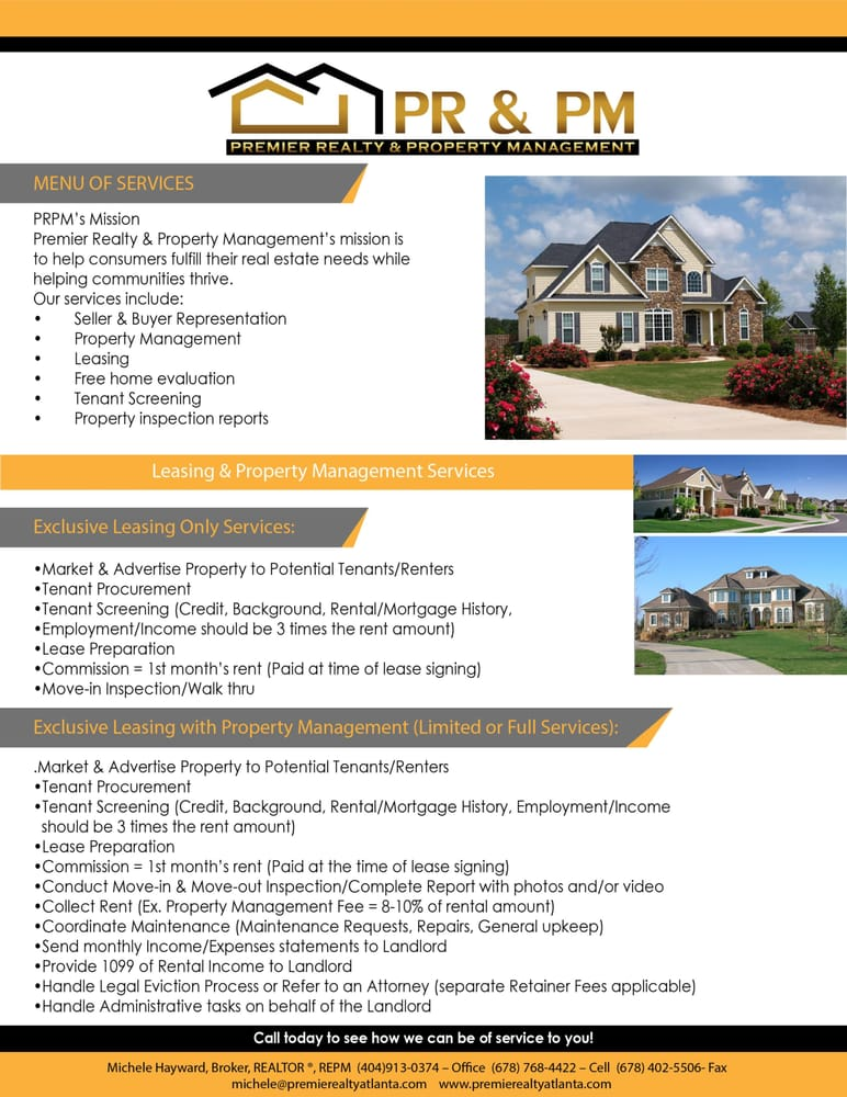 Property Management Services : Premier realty property management services photos