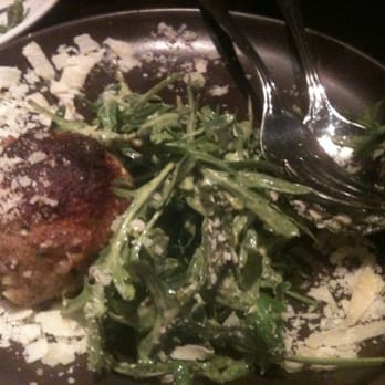 Vesta - Pork meatball with arugula and Parmesan - Redwood City, CA, Vereinigte Staaten
