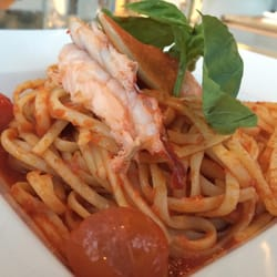 Le Georges - Paris, France. Lobster Pasta