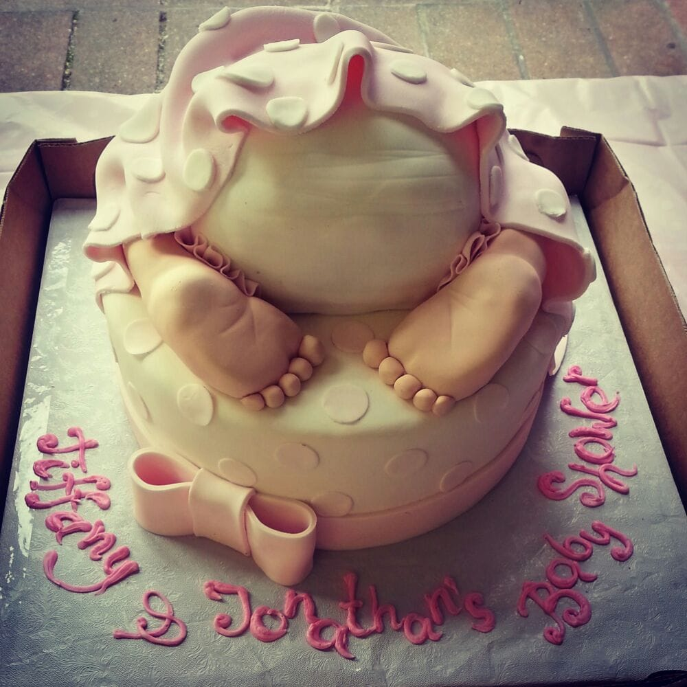 Baku Bakery - Amazing baby shower cake! - Brooklyn, NY, United States