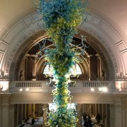 A bit of Seattle in London with a massive Dale Chihuly instalment at the V&A