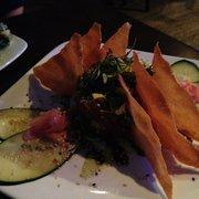 Woody's Solana Beach - Incredibly delicious Ahu Tuna appetizer. - Solana Beach, CA, Vereinigte Staaten