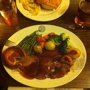 Post roast served only on Sundays.