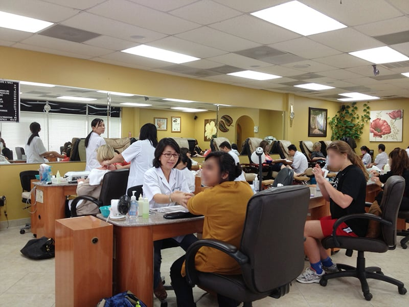 Derma care nails nail salons houston tx yelp for 24 hour nail salon queens ny