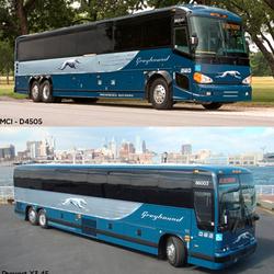 Greyhound Bus Lines - Los Greyhound Bus