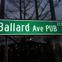 Ballard Ave Pub - Seattle, WA, Vereinigte Staaten