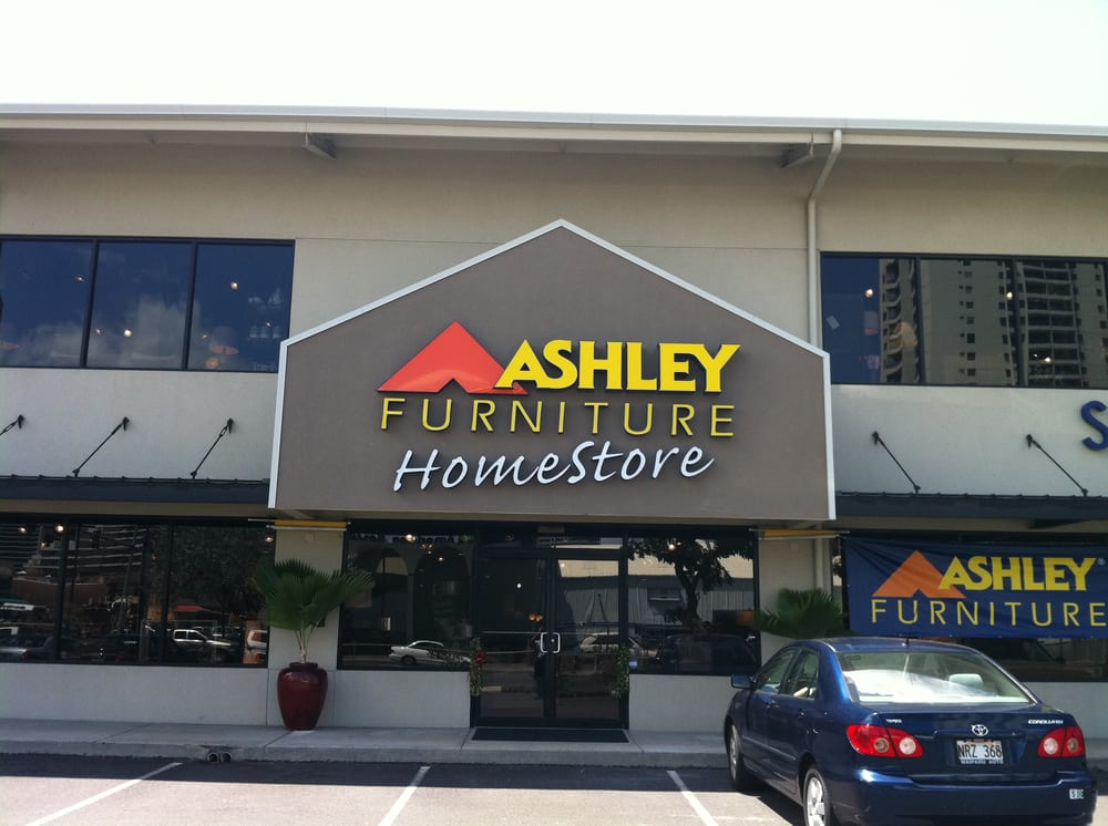 Ashley furniture homestore 24 photos furniture stores for Furniture stores honolulu