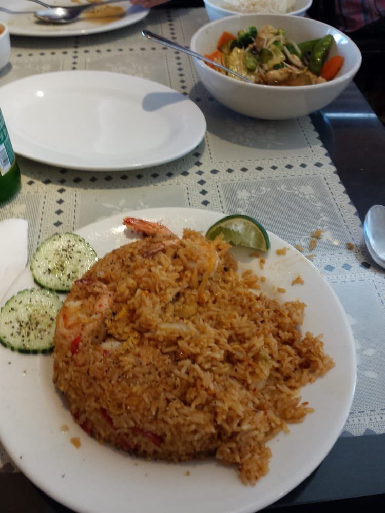 Spicy Thai Fried Rice With Shrimp Spicy Fried Rice With Shrimp