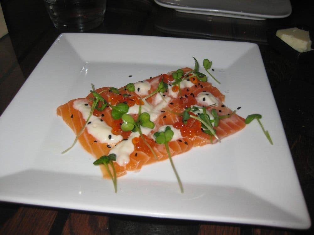 Salmon Carpaccio w/ Pickled
