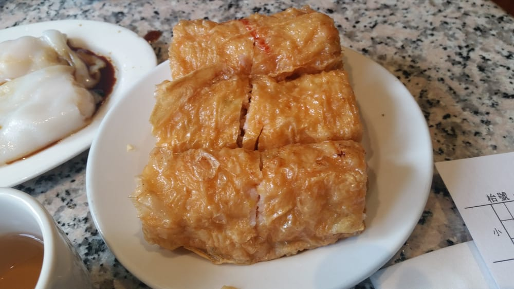 New China Pearl - Shrimp wrapped in tofu skin - Woburn, MA, United ...