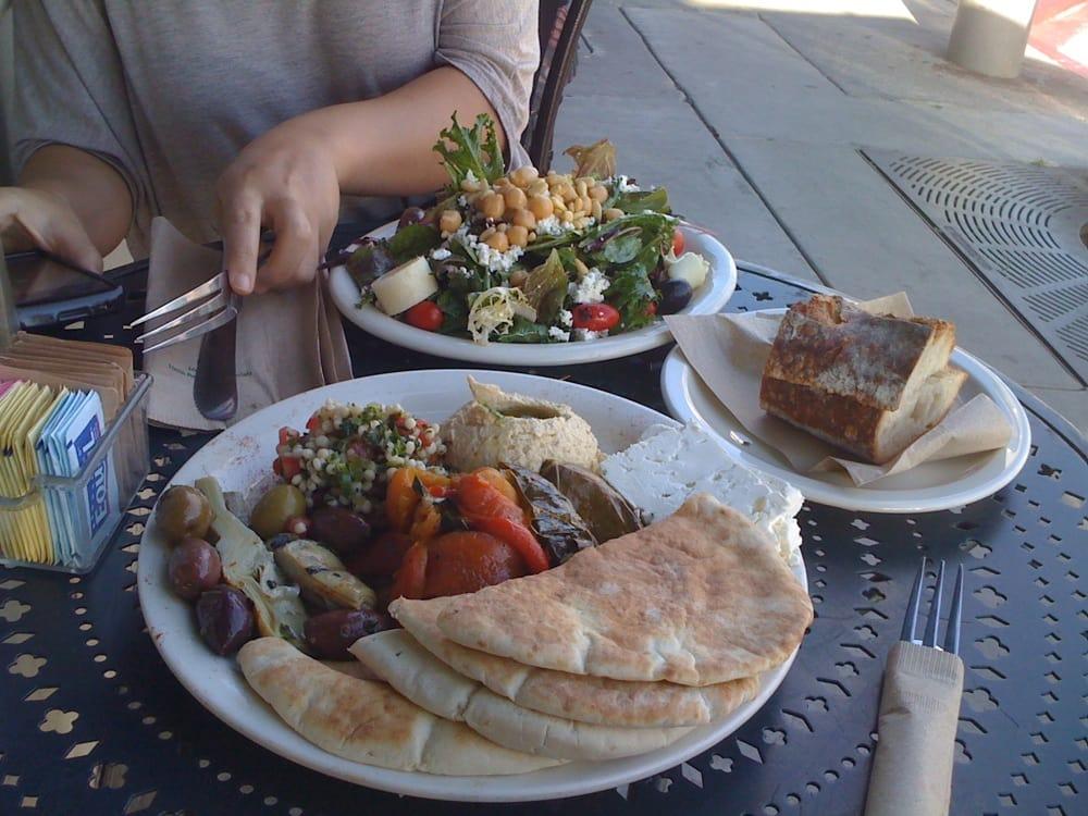 Urth salad & Mediterranean plate | Yelp