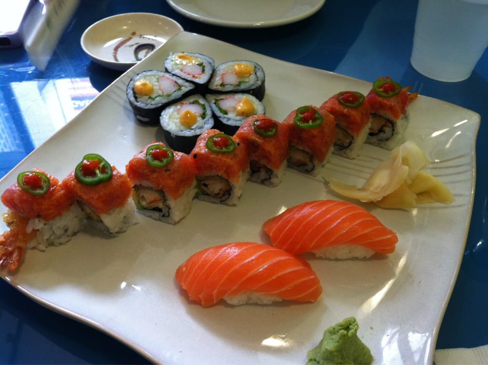 The sushi special of the day yelp for Penn ave fish co