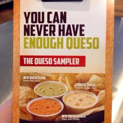 Qdoba Mexican Grill - New queso flavors! - Louisville, KY, Vereinigte Staaten