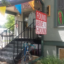 Found Above Ground logo