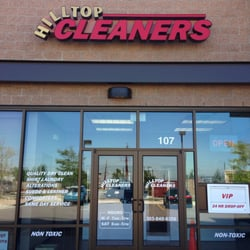 Hilltop Cleaners logo