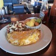 Woody's Solana Beach - Spicy puerto nuevo lobster omlet! Bottomless mimosas too! - Solana Beach, CA, Vereinigte Staaten