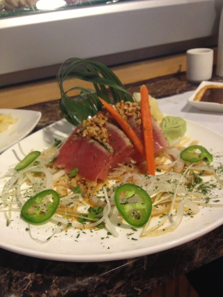 Sushi & Roll - Montebello, CA, United States. Seared tuna sashimi ...