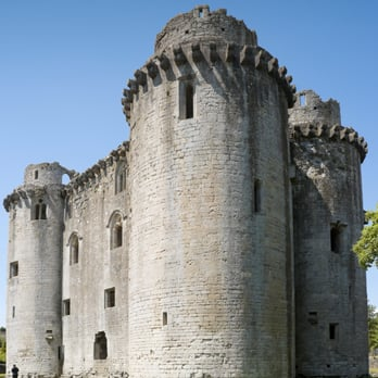 English Heritage: Nunney Castle - Frome, Somerset, United Kingdom