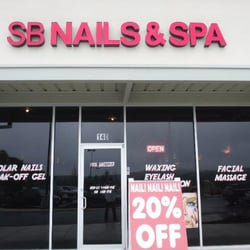 Sb nails spa in san for Tattoo shops in new braunfels