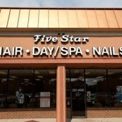 five star hair nails nail salons burke va yelp
