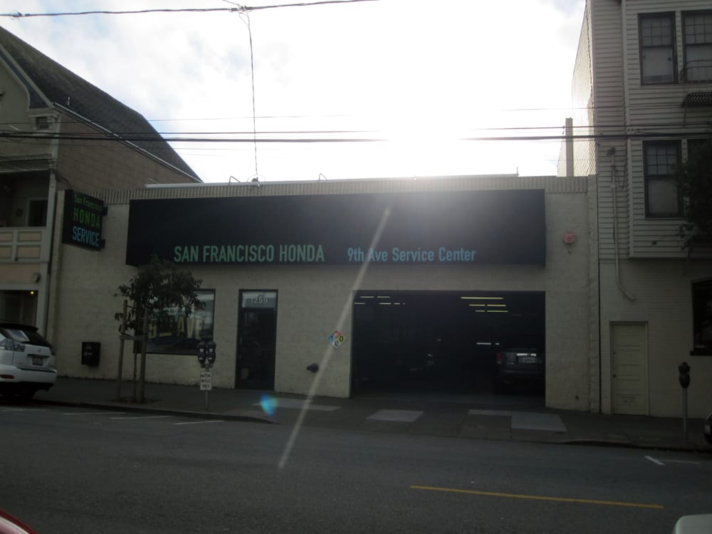 san francisco honda ninth avenue service center auto