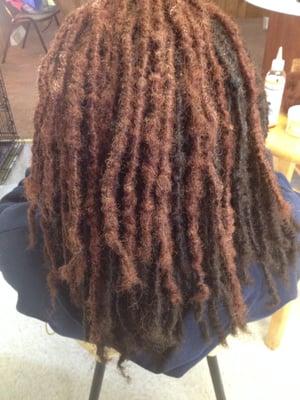 Hair Loc Human Hair Extensions 77