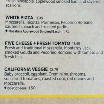 California Pizza Kitchen 61 Photos Pizza San Antonio Tx United States Reviews Yelp
