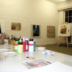 Atelier der Kunstschule SCHULE DES…