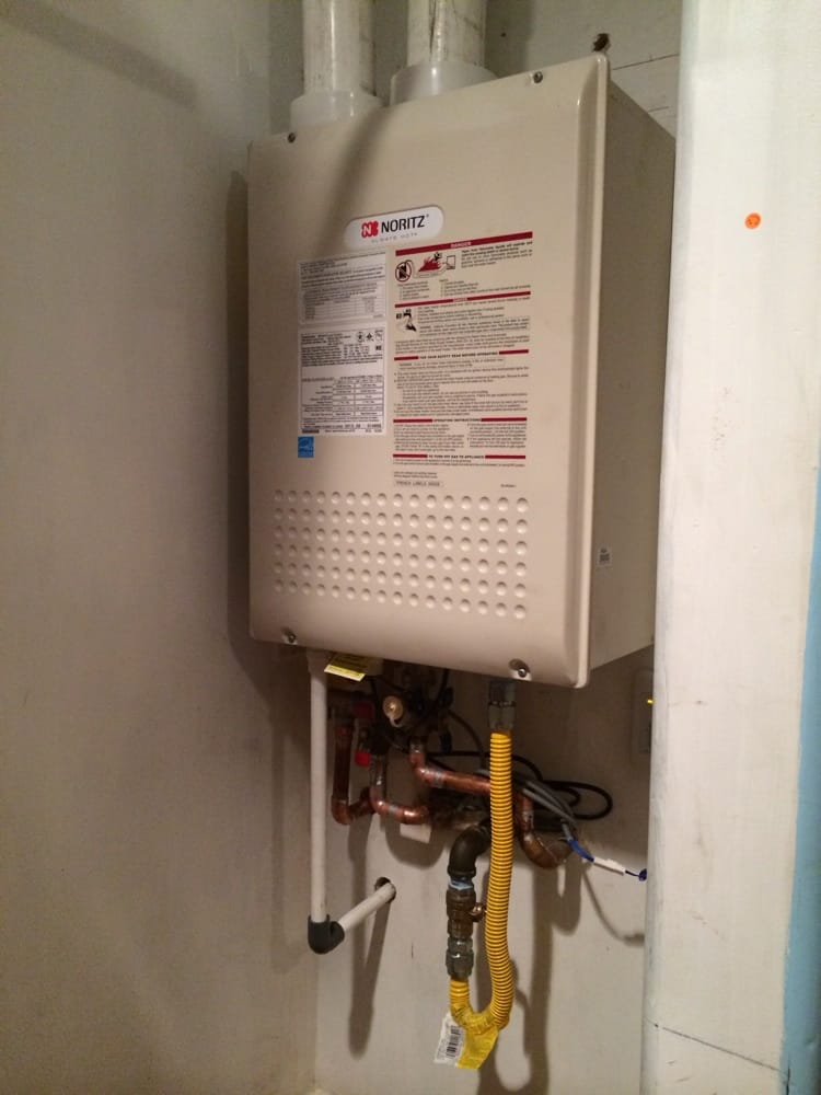 Tankless Water Heater Gas Line New Tankless Water Heater
