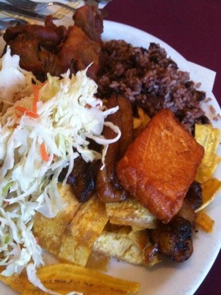 Chancho Frito Nicaragua Chancho Frito Plate