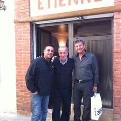 Chez Étienne - Marseille, France. Mr. Etienne, mon oncle, et moi!