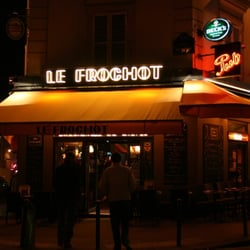 Le Café Frochot, Paris, France