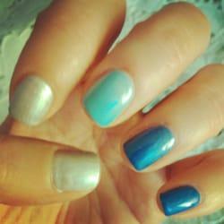 Nails & Spa - Morris Plains, NJ, United States. Ombre Shellac Nails