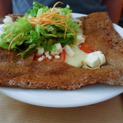 The Greek crepe (a daily special).…