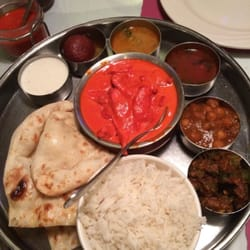 Ashoka indian cuisine butter chicken medium thali for Asoka indian cuisine