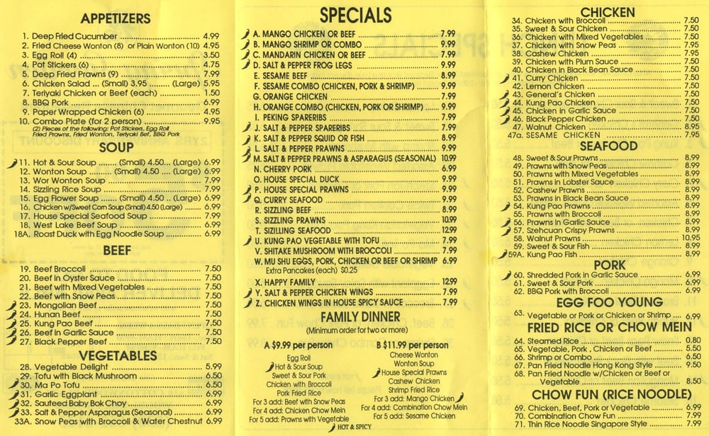 Spring Garden Chinese Woodland Ca United States Reviews Photos Yelp