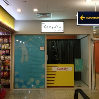 The Laundry Corner - It truly is a corner! - Singapore, Singapur
